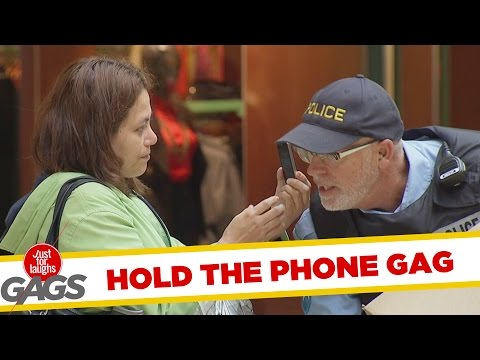 Hold My Phone Prank - Throwback Thursday