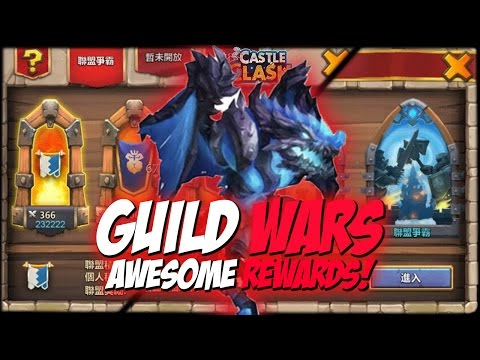 Castle Clash Guild Wars Review & Rewards!