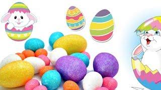 DIY • Wielkanocne pisanki • Brokatowe & Niespodzianka • DIY