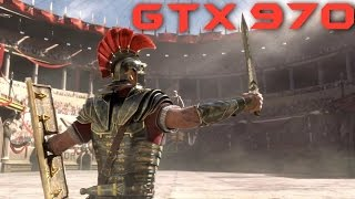 Ryse Son Of Rome GTX 970 OC | 1440p & 1080p Max Settings | FRAME-RATE TEST