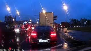 Дтп на пересечении Салова и Белградской