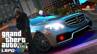 Dirty Rotten Copper!◆LSPDFR GTA 5 Vice Squad◆Mercedes AMG E63 Unmarked◆Police Mods Video