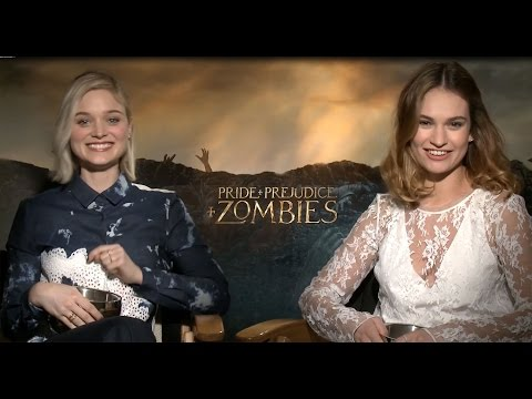 'Pride + Prejudice + Zombies' Cast Plays an Accent Guessing Game!