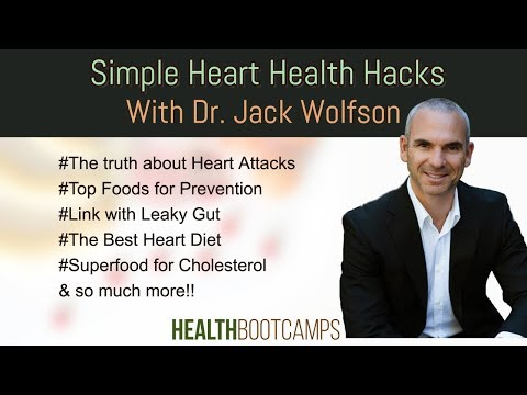 Incredibly Simple Potent Heart Health Hacks with Dr  Jack Wolfson