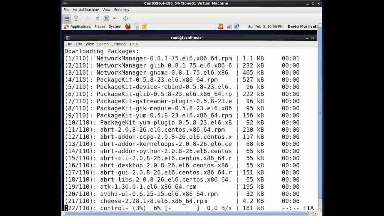 CentOS 6 x - update Firefox using yum