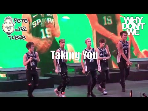 Why Don't We - Taking You (AT&T Center, San Antonio, TX 08/16/2019) HD