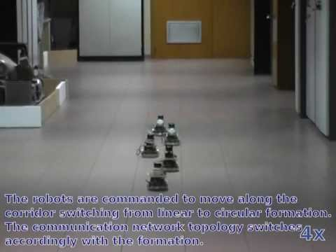 Decentralized time-varying formation control for multi-robot systems