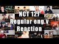 """NCT 127 엔시티 127 'Regular (English Ver.)' """"Reaction Mashup"""""""