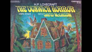 The Dunwich Horror by H P  Lovecraft read by David McCallum