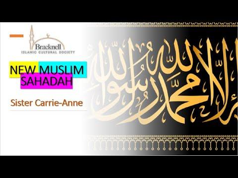 BICS New Muslim Sahadah | Sister Carrie Anne | 21.06.2020