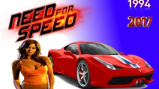 EVOLUTION NEED FOR SPEED (1994 - 2017)
