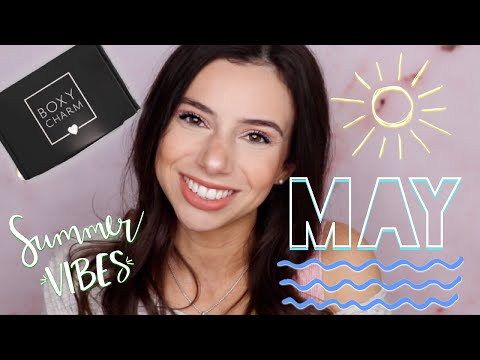 MAY BOXYCHARM REVIEW 2019 | UNBOXING & TRY-ON