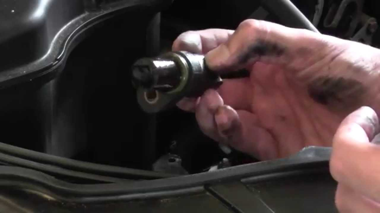 Bmw E90 Exhaust Camshaft Sensor Removal Guide E91 E92 E93 2006 2011 Youtube