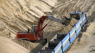 Hochlöffel-Bagger O&K RH8 / Face shovel excavator O&K RH8