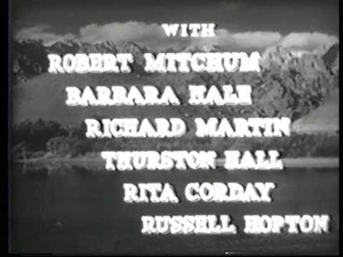 WEST OF THE PECOS 1945 65 Minutes B Western Robert Mitchum Barbara Hale
