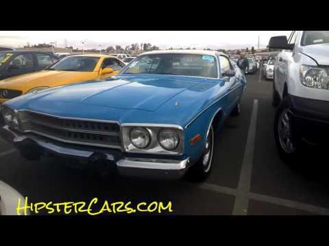 72 Plymouth Sebring Plus Classic Car Mopar CA Auction