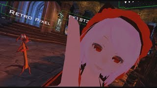 VRChat Moments - Receiving boops from an anime trap
