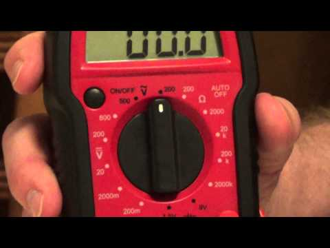 How to Read a Digital Multimeter - How to Use a Digital Multimeter