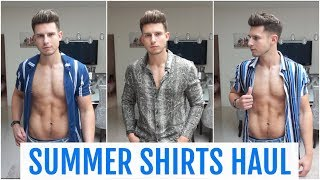 HUGE ASOS Summer Shirts Haul & Try On | Men's Fashion