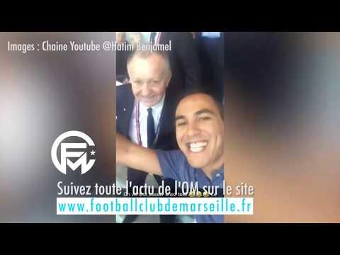 OM vs Lyon : Aulas se fait chambrer en public avec sa chanson par un supporter