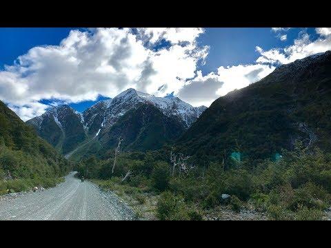 Patagonia Motorcycle Trip: Santiago to Ushuaia 4K