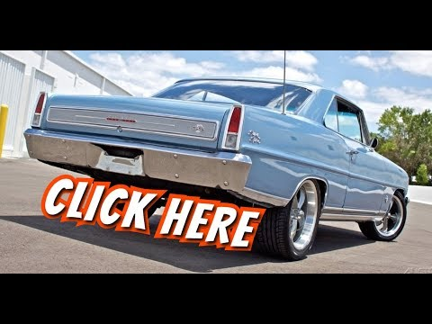 "1966 Chevrolet Nova SS 327 ""Resto-Mod"""