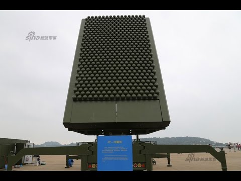 China Anti-Stealth DWL-002 & YLC-20 Passive Radars + JY-26 AESA Radar