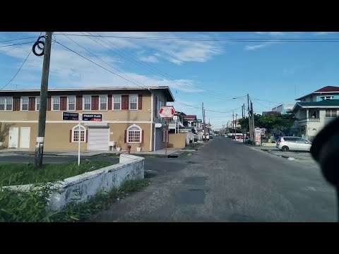 GUYANA: A TOUR ON BARR STREET AND STANLEY PLACE, KITTY, GEORGETOWN
