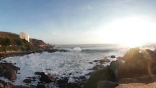 Vídeo relajante del mar en 360 grados