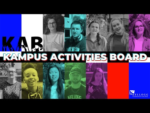 About the Kampus Activities Board at Kellogg Community College