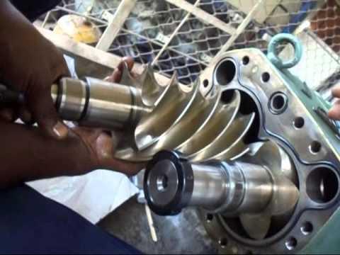 Screw Compressor Screws Fixing