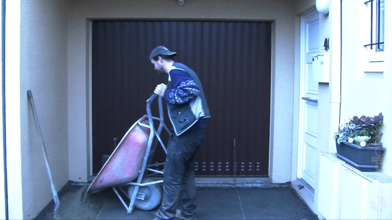 Fabulous Réalisation d'une entrée de garage en pavés - Société DPK - YouTube NM94