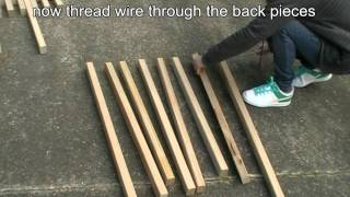 How To Make A Folding Kentucky Stickchair