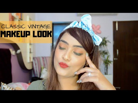 classic-retro-glam-makeup-tutorial-|-aarushi-jain