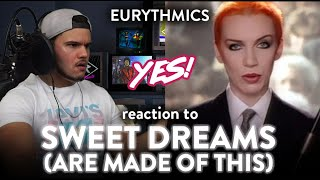 Eurythmics Reaction Sweet Dreams (Are Made of This) 80s WOW!  | Dereck Reacts