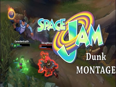 Dunkmaster Darius Space Jam Montage - League of legends