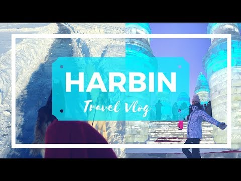 Travel Vlog | Harbin (China): Ice World & Dog Sledding