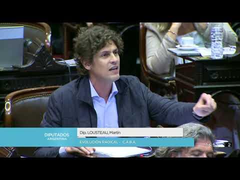 Diputado Lousteau Martín - Sesión 25-04-2018 - PL