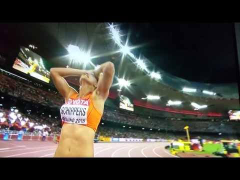 Beijing 2015 Women 100 meters final Fraser Pryce
