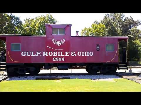 Railroad Museum Trip To Tennessee and Mississippi 2017