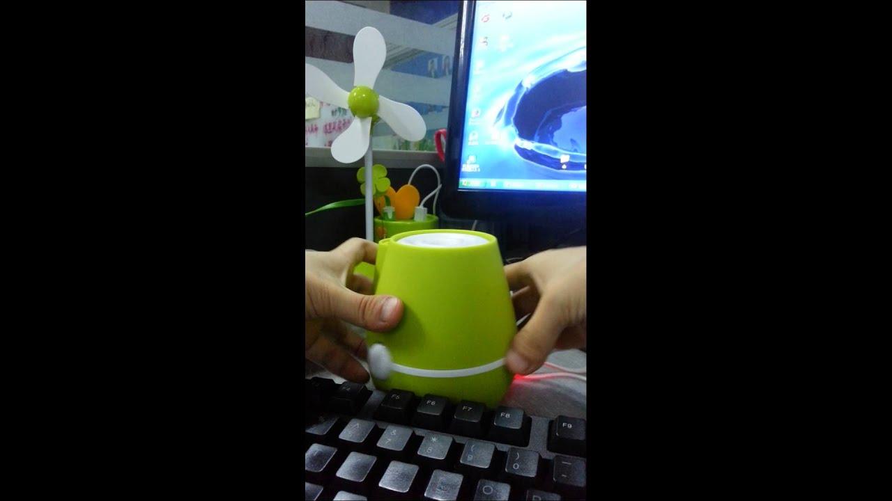 Usb Vase Humidifierhome Decortion Usb Vase Humidifiervase