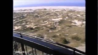 Der einzigartige Leuchtturm auf der Insel Amrum, Rundumblick, Kniepsand, Strand, Nordsee1999 !