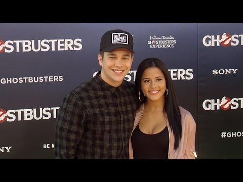 """Austin Mahone & Katya Henry """"Ghostbusters"""" Los Angeles Premiere"""