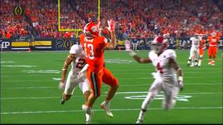 DeShaun Watson finds Hunter Renfrow for Clemson touchdown.