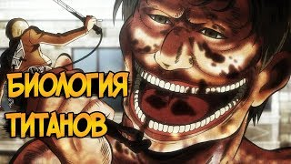 Титаны из аниме Атака Титанов / Вторжение Гигантов (биология, виды, способности)