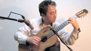 いのちの名前 作曲 久石譲 ギター・蓮見昭夫 使用ギター Stephan Schlem...