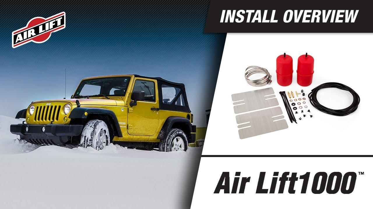 Air Lift 60918 1000 Universal Air Spring Kit