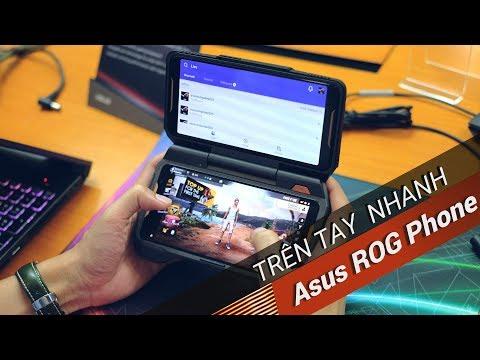 ✅VnReview - Trên tay Asus ROG Phone: Điện thoại chuyên game tối tân với hàng loạt tính năng độc lạ | Foci