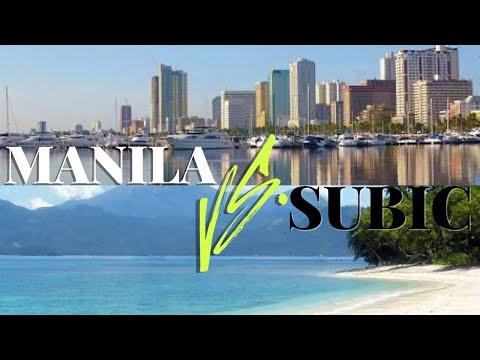 Manila Vs Subic (Philippines)