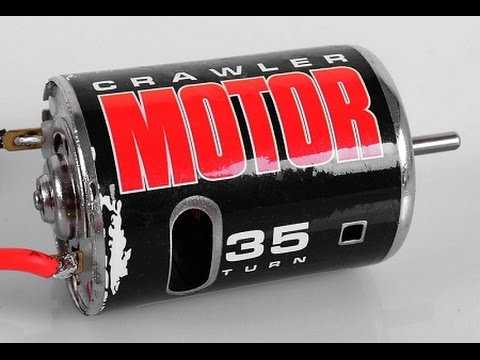 RC4WD 35T Brushed motor pulls 20lb car jack!